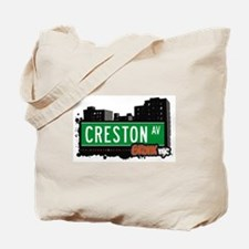Creston Av, Bronx, NYC  Tote Bag