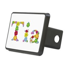 Tia Bright Flowers Hitch Cover