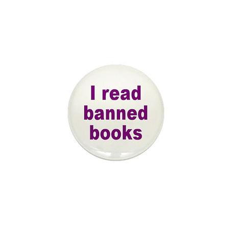 BANNED BOOKS Mini Button