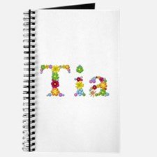 Tia Bright Flowers Journal