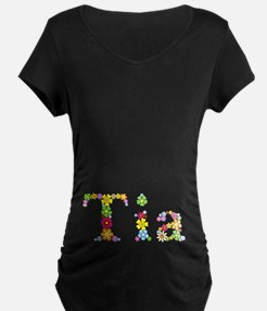 Tia Bright Flowers T-Shirt