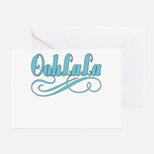 BLUEoohlala copy.png Greeting Card