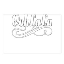 BLUEoohlalawhite.png Postcards (Package of 8)