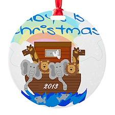 Noahs Ark 1st Christmas 2013 Ornament