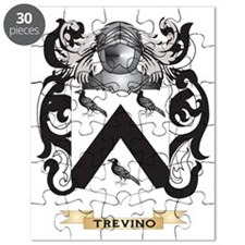 Trevino Family Crest (Coat of Arms) Puzzle