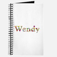 Wendy Bright Flowers Journal