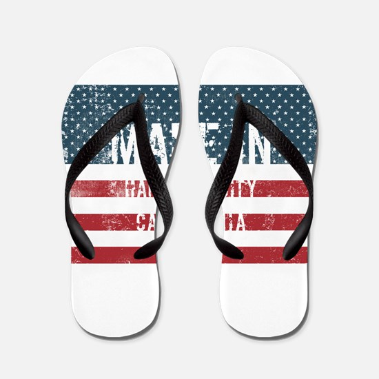 Made in Hamilton City, California Flip Flops