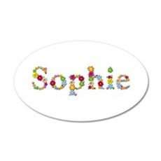 Sophie Bright Flowers Wall Decal