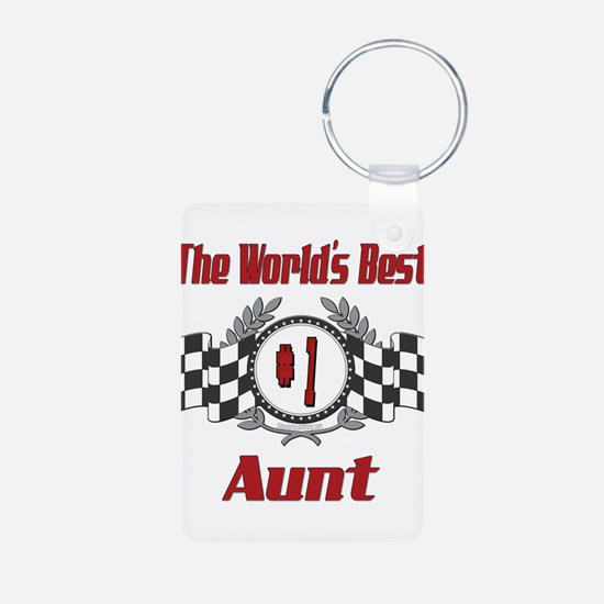 Racing1AUNT.png Keychains