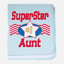 SUPERSTARAunt.png baby blanket