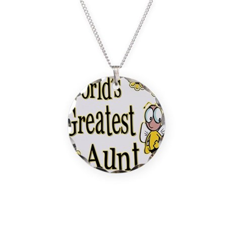 Beeworldsgreatestaunt copy.png Necklace Circle Cha