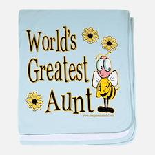 Beeworldsgreatestaunt copy.png baby blanket