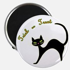 Trick or Treat cat Magnet