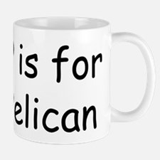 P is for Pelican Mug