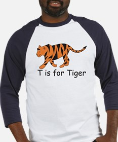 T is for Tiger Baseball Jersey