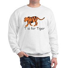 T is for Tiger Sweatshirt