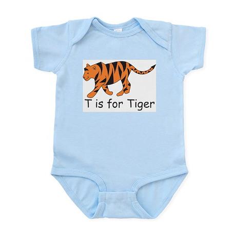 T is for Tiger Infant Bodysuit