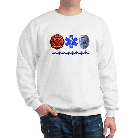 Superhero- Back Design Sweatshirt