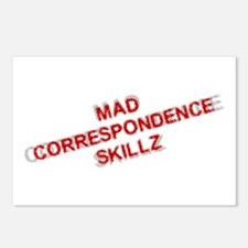 Mad Skillz Postcards (Package of 8)