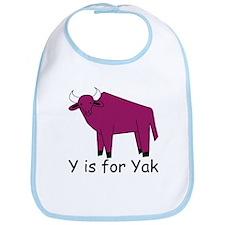 Y is for Yak Bib