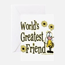 Beeworldsgreatestgodfriend copy.png Greeting Card