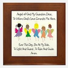 Childs Catholic Prayer Framed Tile