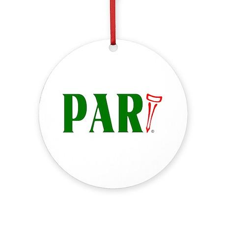PAR-tee Ornament (Round)