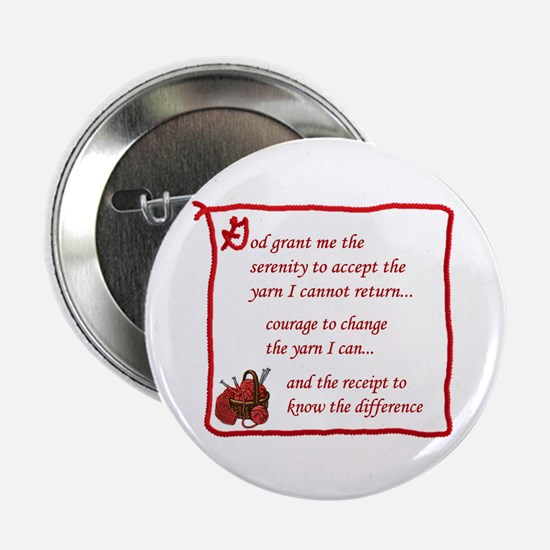 Yarnaholic prayer Button