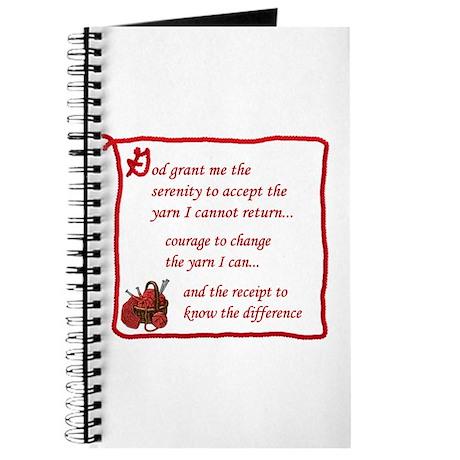 Yarnaholic prayer Journal