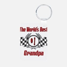 Racing1GRANDPA.png Keychains