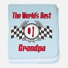 Racing1GRANDPA.png baby blanket