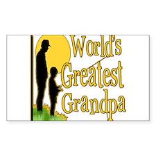 FishingGreatestgrandpa copy.png Sticker (Rectangle