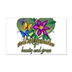 Butterflygrandmother.png 20x12 Wall Decal