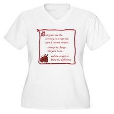 Yarnaholic prayer T-Shirt