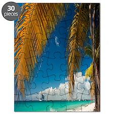 Palm trees cruise Catalina Island - Copy Puzzle