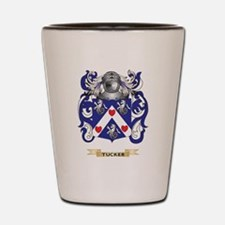 Tucker Family Crest (Coat of Arms) Shot Glass