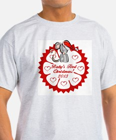 Santa Mouse 1st Christmas T-Shirt