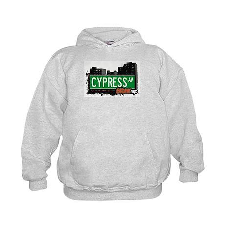 Cypress Av, Bronx, NYC Kids Hoodie