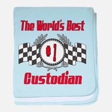 Racing1CUSTODIAN.png baby blanket