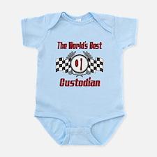 Racing1CUSTODIAN.png Infant Bodysuit