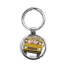 Best Bus Driver 2013 Round Keychain