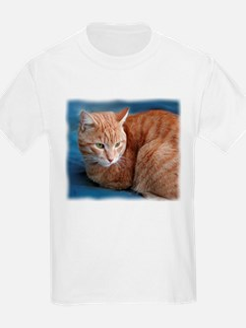 Funny Orange tabby cat T-Shirt