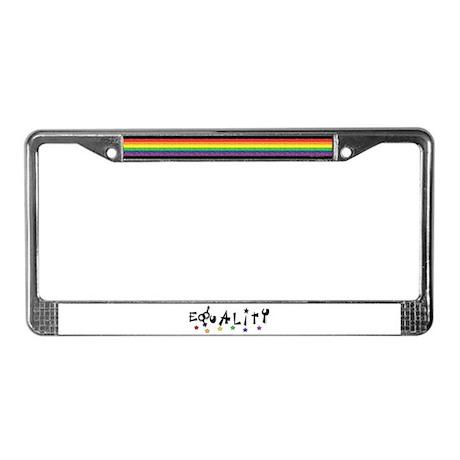 Equality 2 License Plate Frame