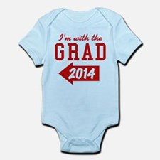 Im With The Grad 2014 (left) Body Suit