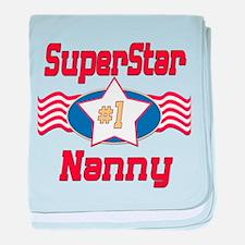 SUPERSTARNanny.png baby blanket