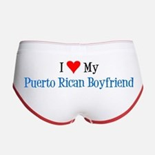 Love My Puerto Rican Boyfriend Women's Boy Brief W