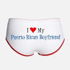 Love My Puerto Rican Boyfriend Women's Boy Brief W