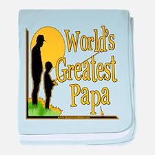 FishingGreatestpapa copy.png baby blanket