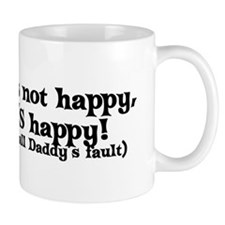 It's All Daddy's Fault Mug