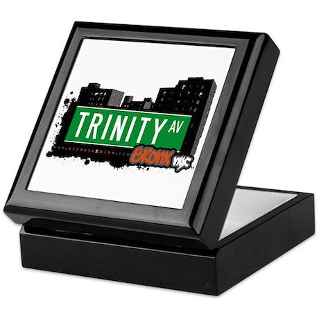 Trinity Av, Bronx, NYC Keepsake Box